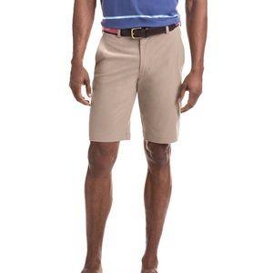 VINYARD VINES Performance Breaker Khaki Shorts 28